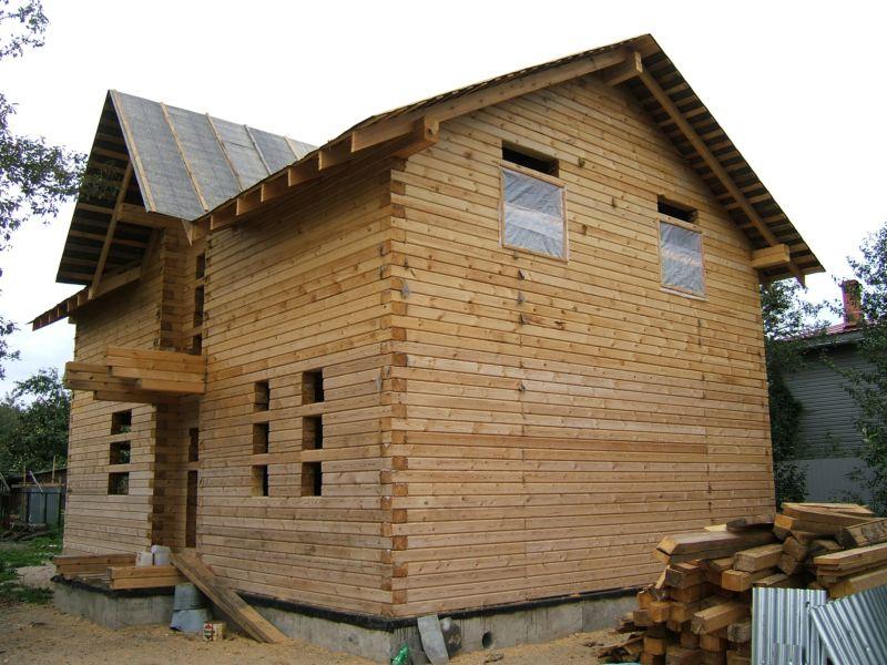 Дом из бруса 150